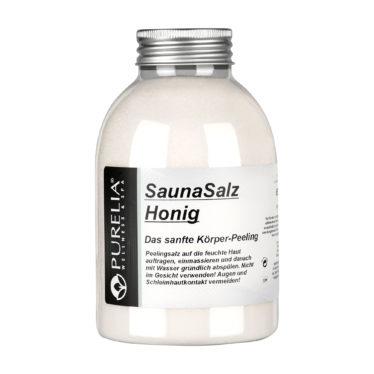 Purelia Sauna Peeling Salz Honig